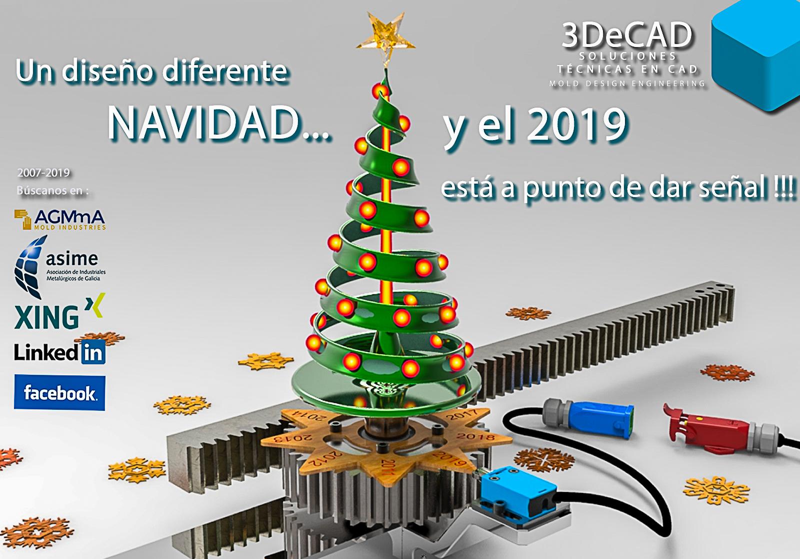 Imagenes Felicitacion Navidad 2019.Navidad Y El 2019 Esta A Punto De Dar Senal Felicitacion